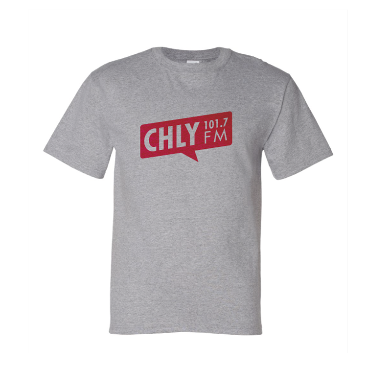 Shirt in Heather Grey