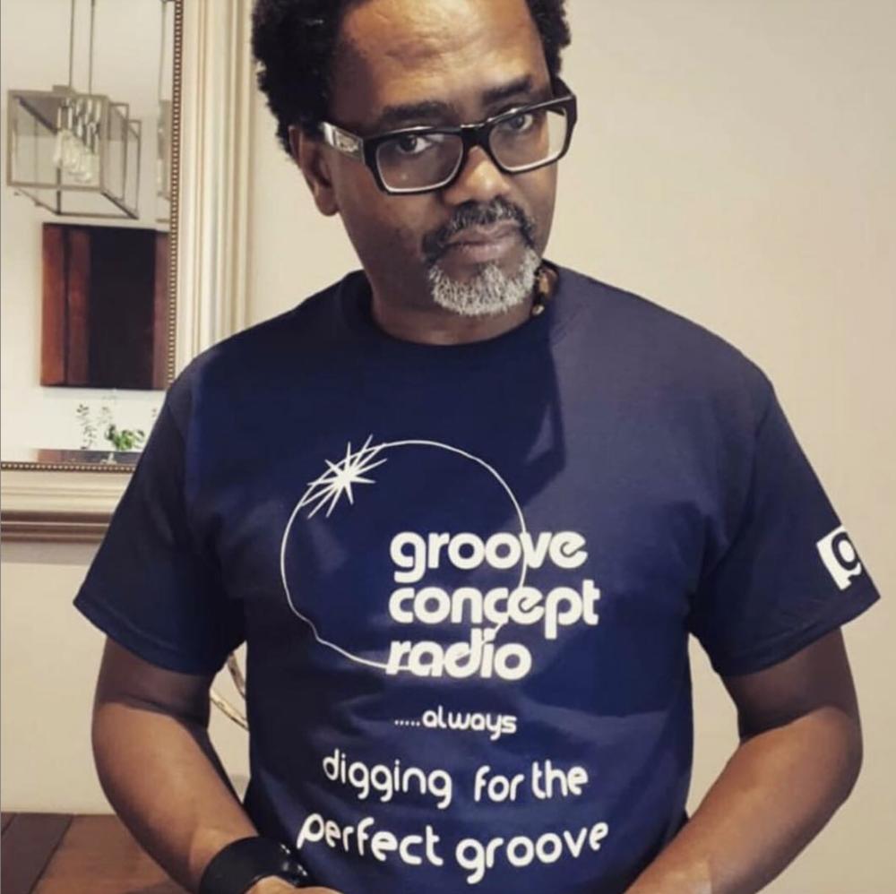 Emile Weekes host of Groove Concept Radio.