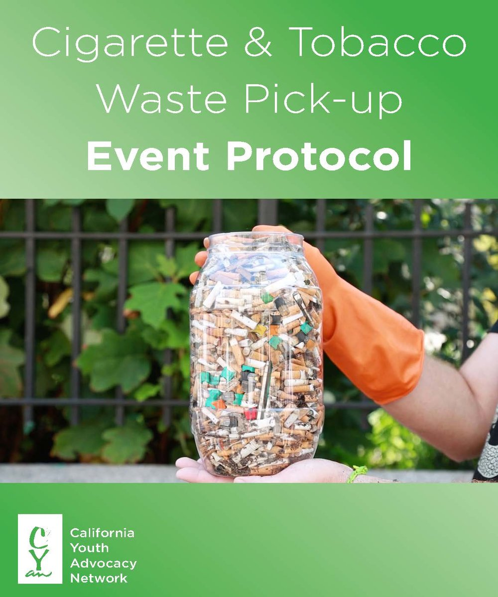 Download the Tobacco Waste Pick-up Protocol.