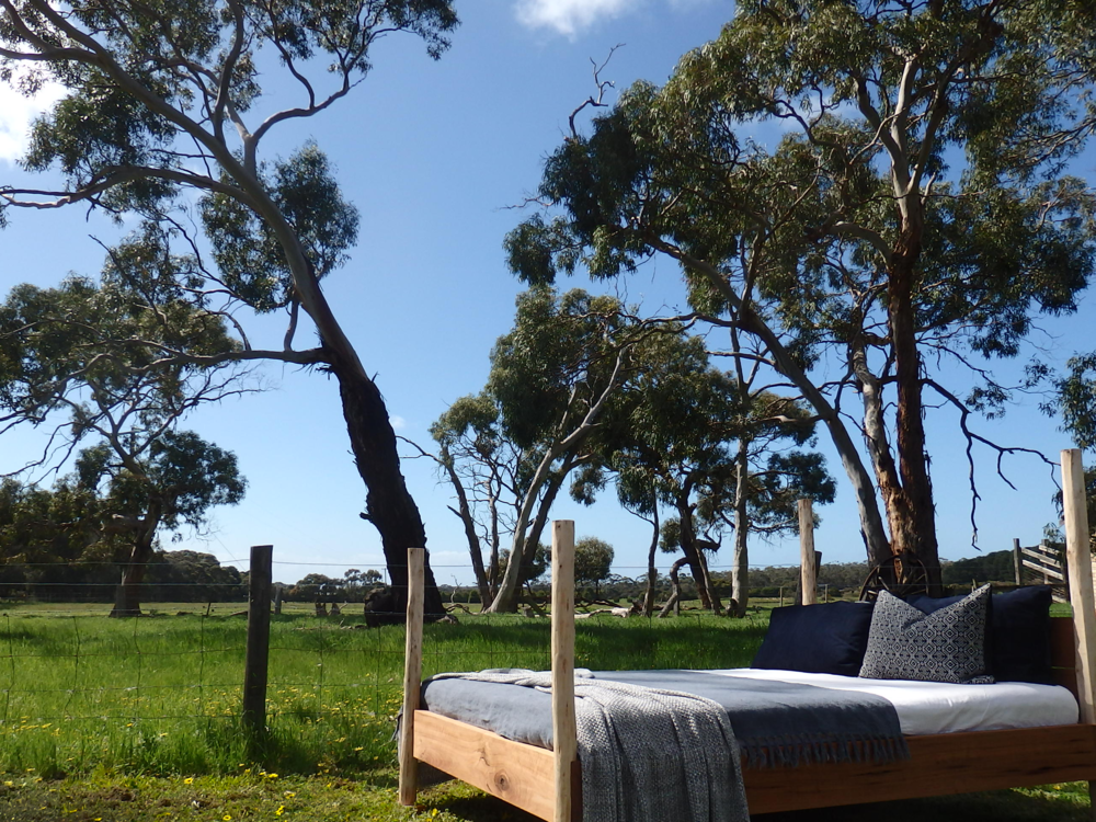 al and imo handmade furniture, gummy bed. Melbourne, Surf Coast, Victoria, Australia