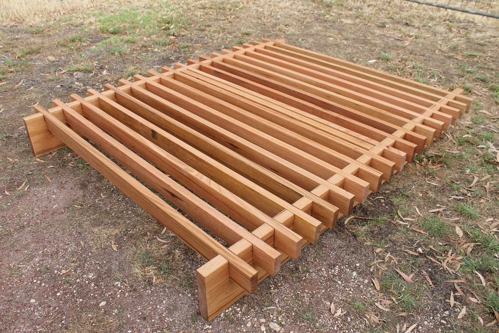 Gummy Bed made by Al and Imo handmade furniture, Melbourne, Surf Coast, Victoria, Australia