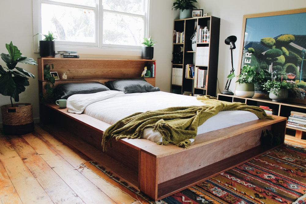 Al and imo handmade furniture custom made bookshelf queen bedfram recyled messmate melbourne surf coast_-7.jpg