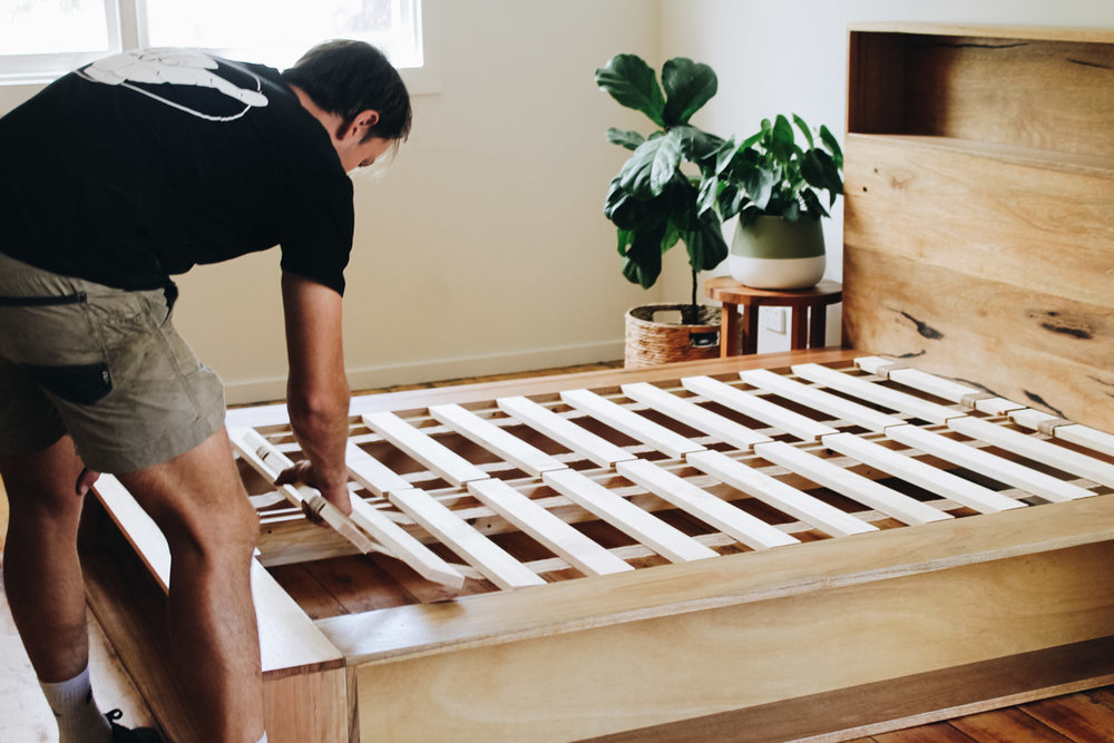 al and imo handmade timber platform bed frame with bookshelf bed head (25 of 25).jpg