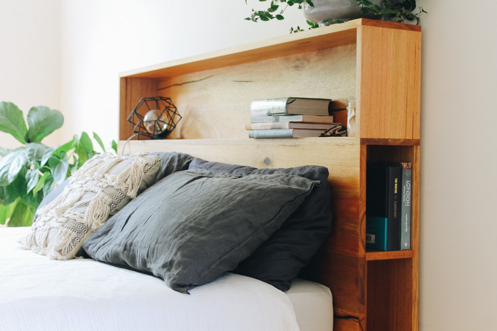 al and imo handmade timber platform bed frame with bookshelf bed head (8 of 25).jpg