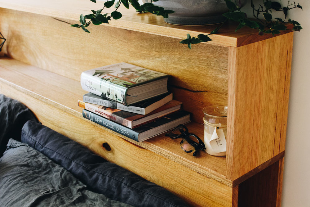 al and imo handmade timber platform bed frame with bookshelf bed head (5 of 25).jpg
