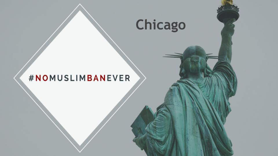 TODAY - June 26, 2018  Time TBD  CAIR offices - 17 N State St. Ste 1500 Chicago, IL 60602   More event details...