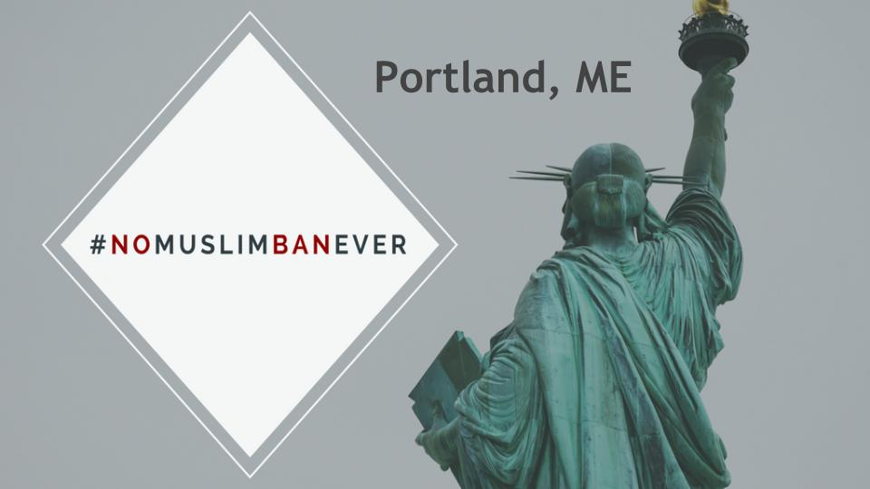 TODAY, June 26th  6pm ET  Portland City Hall (Maine) 389 Congress St, Portland, Maine 04101   More event details...