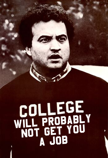 Ironically, Animal House was filmed at the U of O...but you all likely know that by now