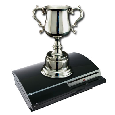 It would be more of a shame for PSP owners if PS3 trophies actually came to gamers this lifesized