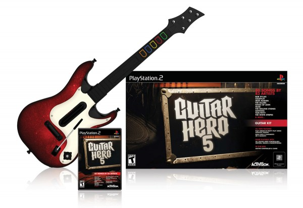 Unassuming box art adorns the latest Guitar Hero rendition. Are we due for some pleasant surprises, or is what we're seeing just what we'll get this September?