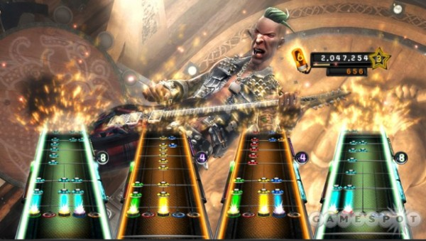 Guitar Hero 5 seeks to make the experience more flexible, allowing any combination of instruments to play at a time. And if you're throwing a party, guests will be able to jump in and out of songs at any time without worrying about winning or losing.