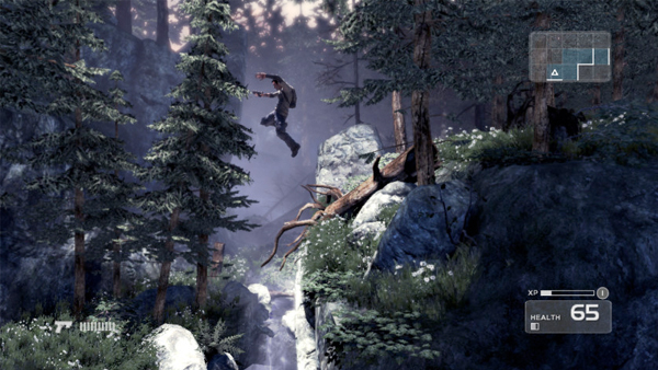 Nathan Drake/The Prince takes flight in Shadow Complex for Xbox Live Arcade