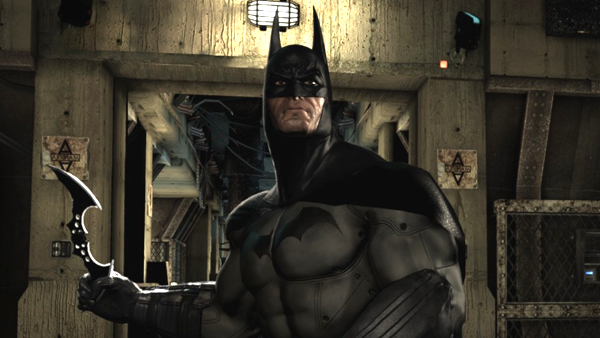 The old gadget standby, the batarang, turns out great in Arkham Asylum -- it's always a fun tool to use
