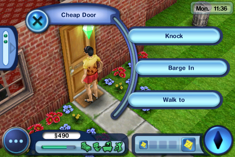 The game thrives on an abundance of opportunities to assert your Sim's personality.