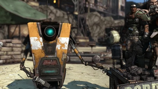 Claptrap: The face (and number one dancing sensation) of the Borderlands.