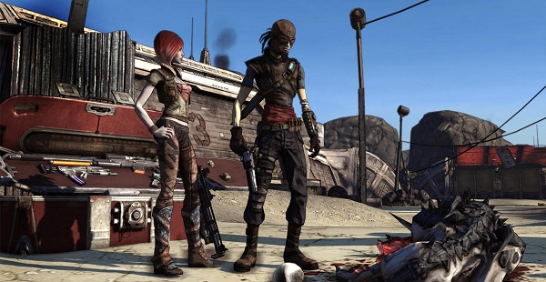 Lucky you! You get a bonus Borderlands screenshot