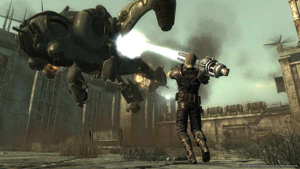 Fallout 3's Broken Steel downloadable content retroactively changes the ending to the game from a hard, final conclusion, to a jumping-off point for more end-game content.