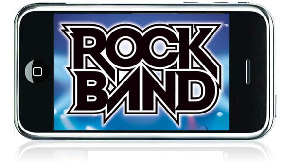 Rock Band on iPhone