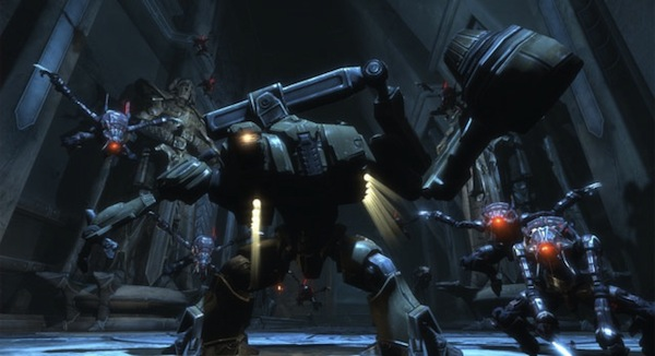 Bland, uninspired enemies populate the Too Human universe.