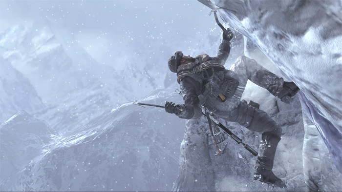 Infinity Ward's next project: a realistic remake of Ice Climbers.