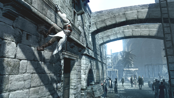 The animations used to bring Altaïr's climbing antics to life are impressive without relying on demanding control schemes