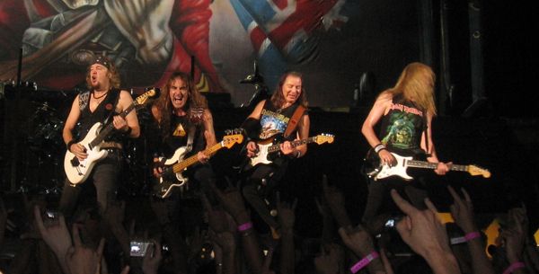 On June 9, you too can rock out like Iron Maiden in Rock Band.