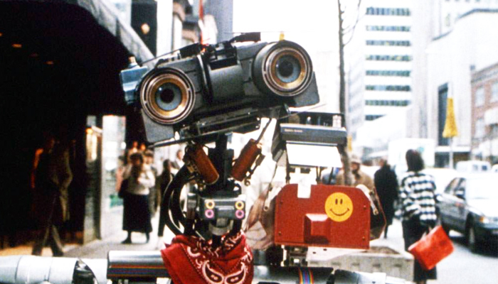 Johnny 5: The official mascot of Silicon Sasquatch's 5th Year