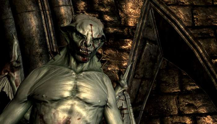 Backlog - Skyrim Vampire