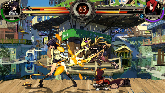 Doug may still be a fighting-game scrub stuck on a stock gamepad, the allure of (and story behind the developers of) Skullgirls was too much to pass up