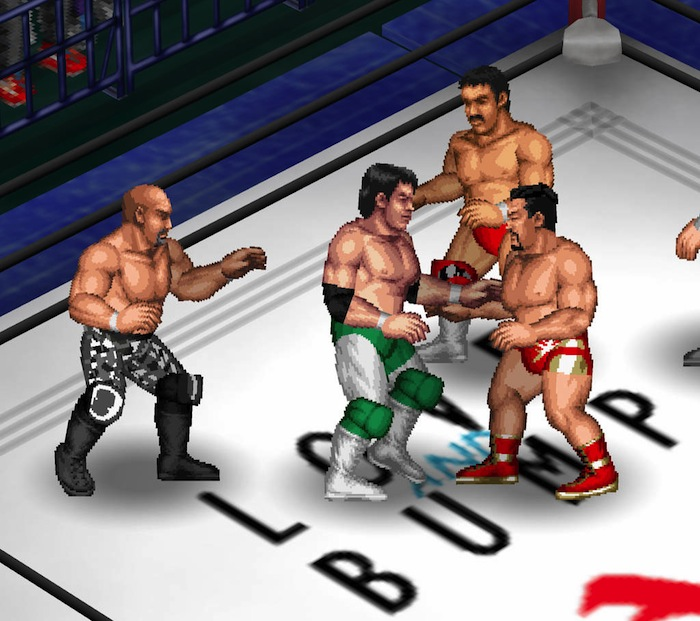 If you can name any of the wrestlers in this image, then you probably already have Fire Pro Wrestling Returns