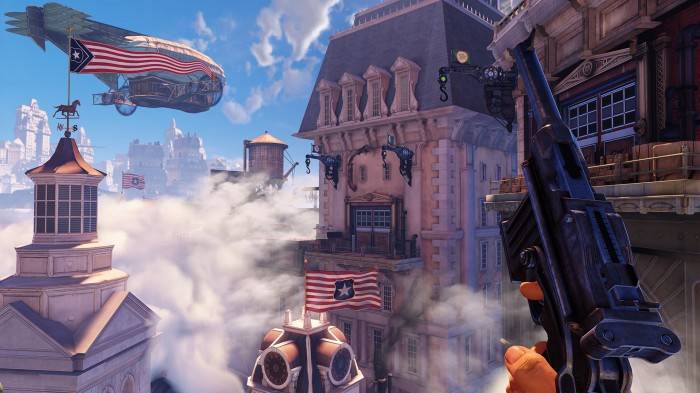 BioShock Infinite's Columbia is beautiful...even if it's seen down the barrel of a gun.