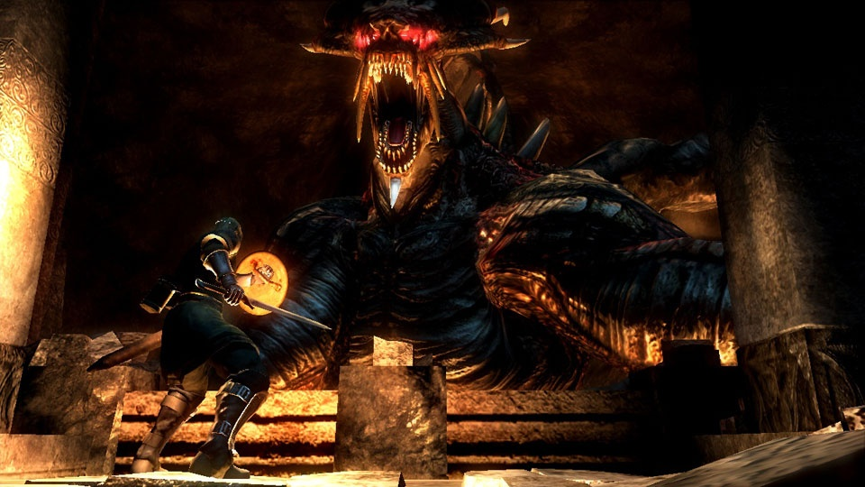 This is Demon's Souls' easiest boss. Yep.