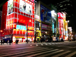 Akihabara, Tokyo – the home of electronics, gaming and nerd culture to this day