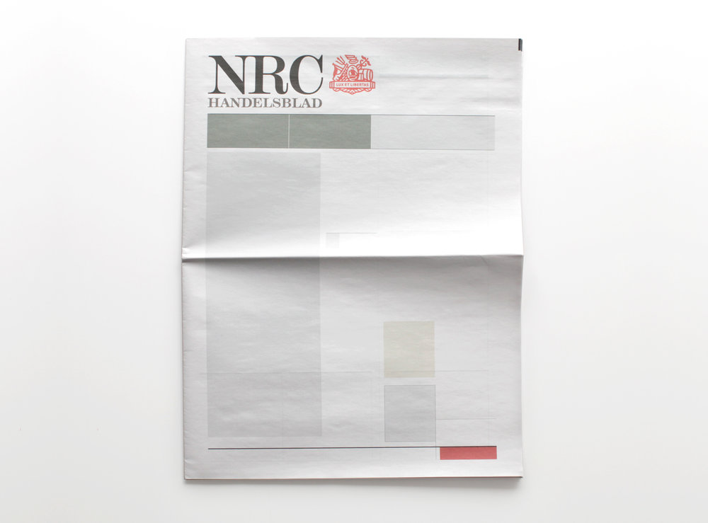 NOTHING IN NRC  :  Newspapers from around the world with nothing in them.