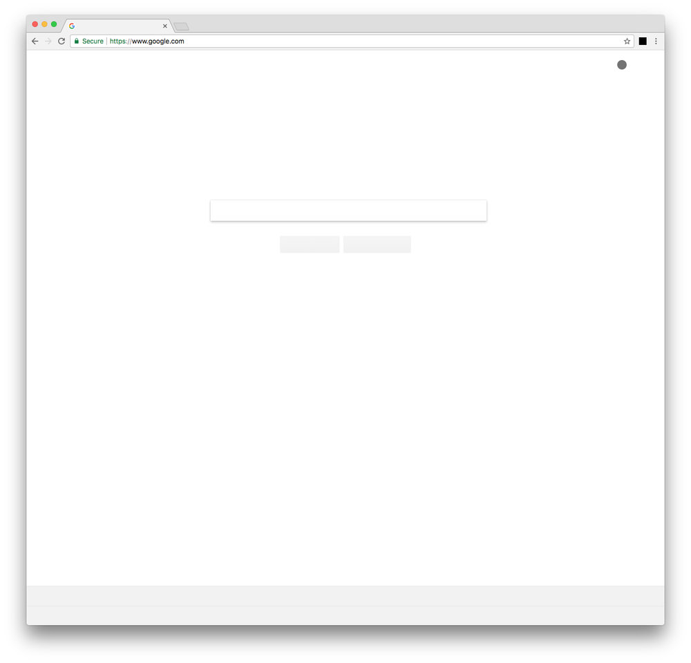 NOTHING ON THE INTERNET  - Screenshot from google.com