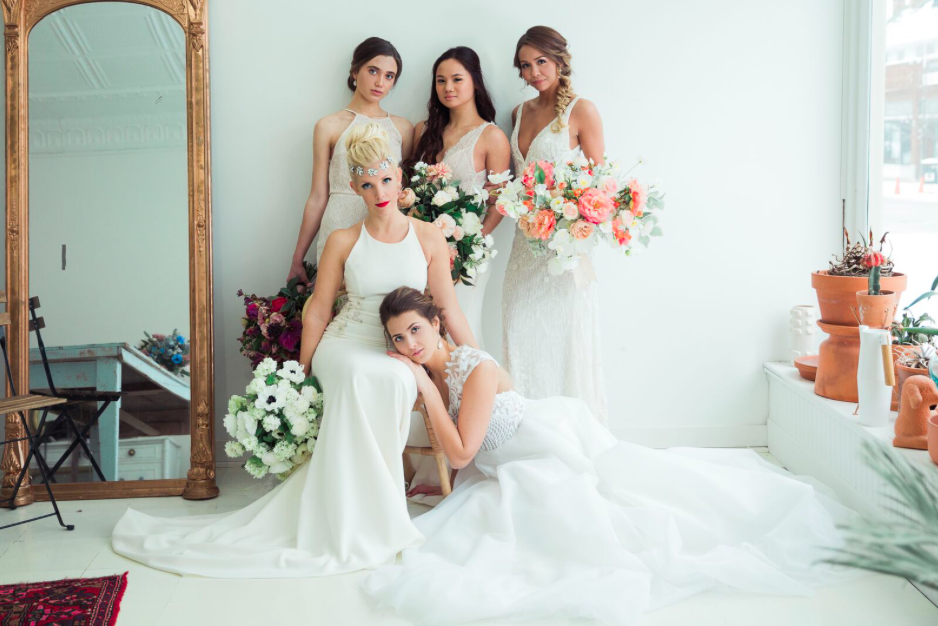 Urban You Bridal Photo shoot shoe trends