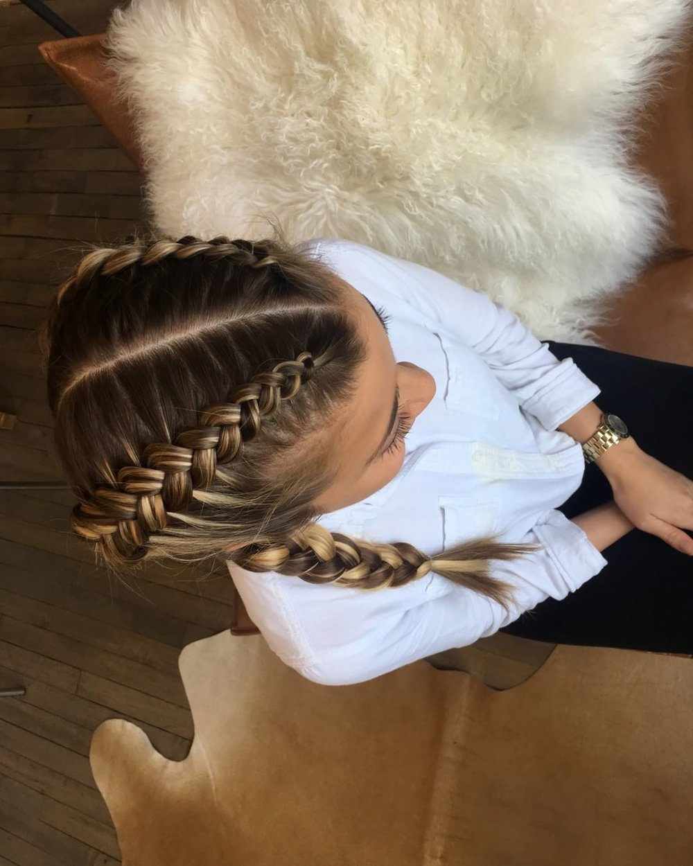 Double Dutch Braid  - by Urban You Stylist, Cassie