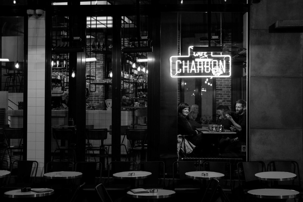 "<p style=""font-family:brandon-grotesque;font-weight:500; font-size:11px; text-center:left; color:light grey;letter-spacing: 1px"">MARCH 2, 2017 • CAFÉ CHARBON • 📍 Brussels, Belgium</p>"