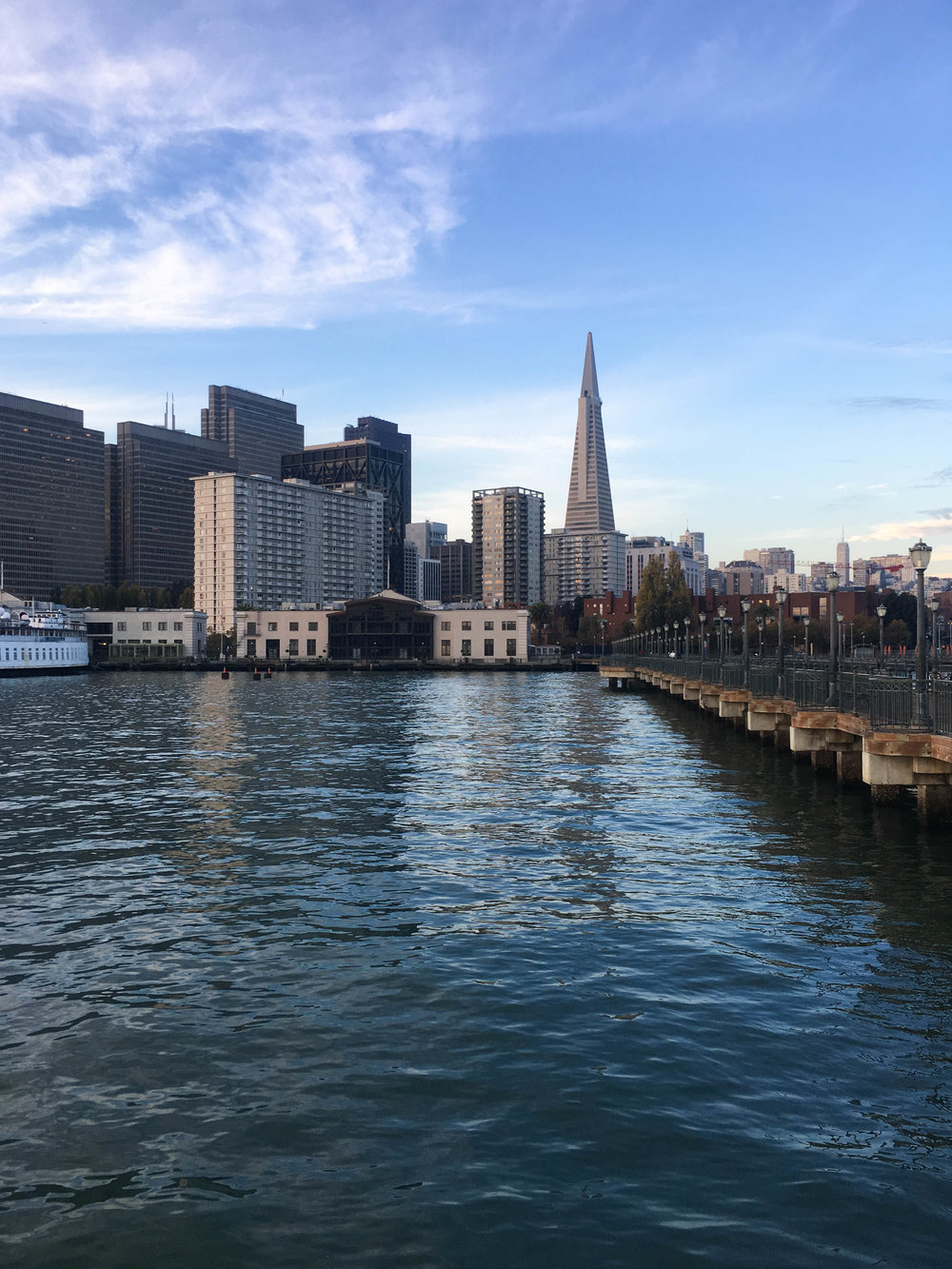 """<p style=""""font-family:brandon-grotesque;font-weight:500; font-size:11px; text-center:left; color:light grey;letter-spacing: 1px"""">OCTOBER 8, 2017 • FROM THE PIER • 📍 San Francisco, CA</p>"""