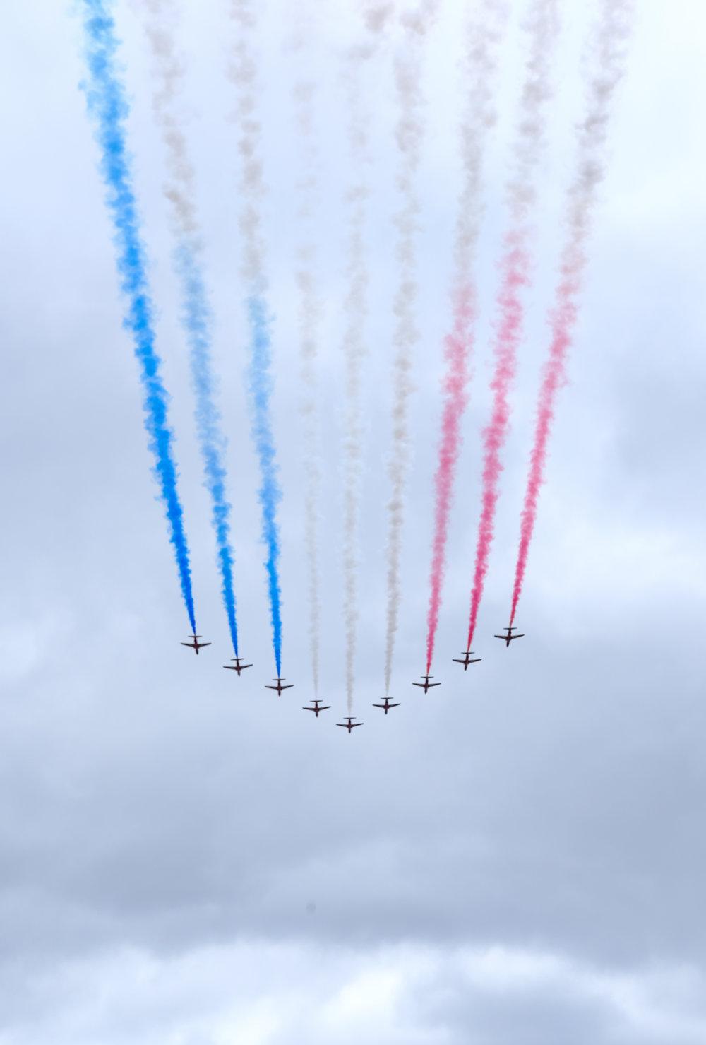 JULY 10, 2018 • RAF CELEBRATES 100 YEARS • 📍London, UK 🇬🇧
