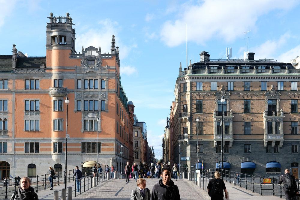 SEPTEMBER 16, 2018 • MAIN STREET • 📍Stockholm, Sweden 🇸🇪