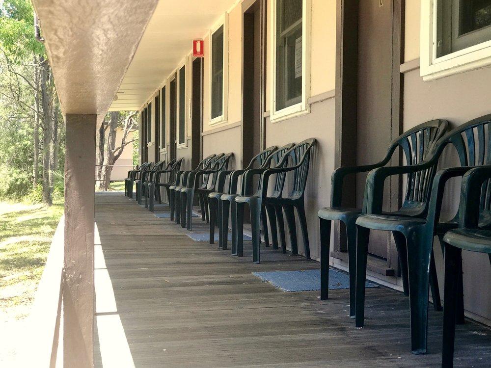 cabin 8 verandah