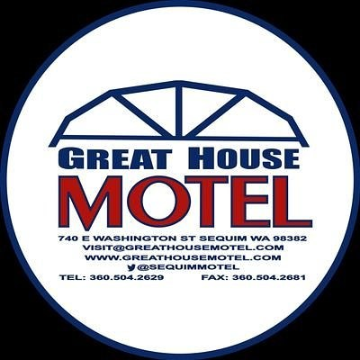 Under new ownership & management. Come to #Sequim and see. Small-town vibe, big world mentality. #GreatHouseMotel #motel #travel WWW.GREATHOUSEMOTEL.COM