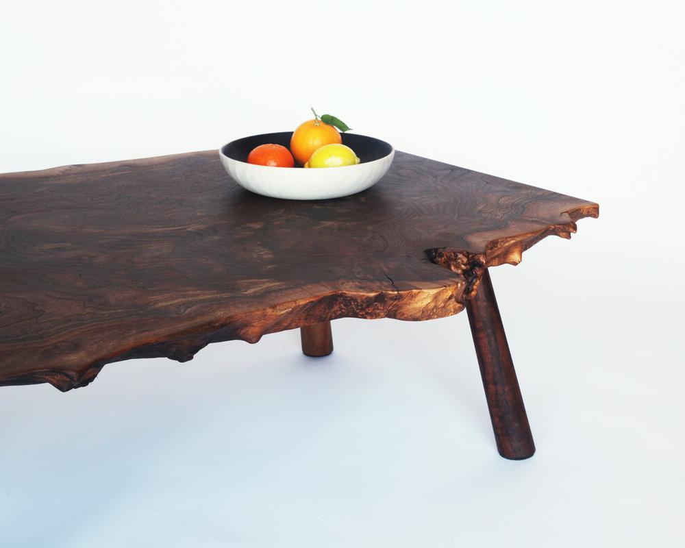 coffee table-  Claro walnut