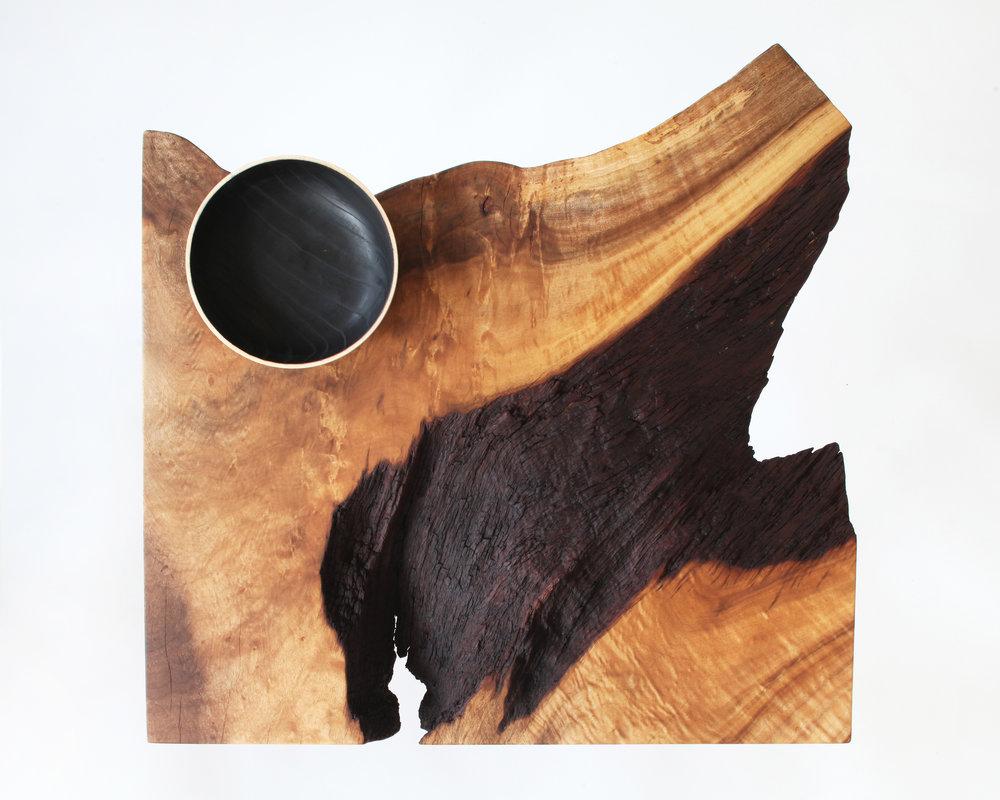 side table-  bay laurel