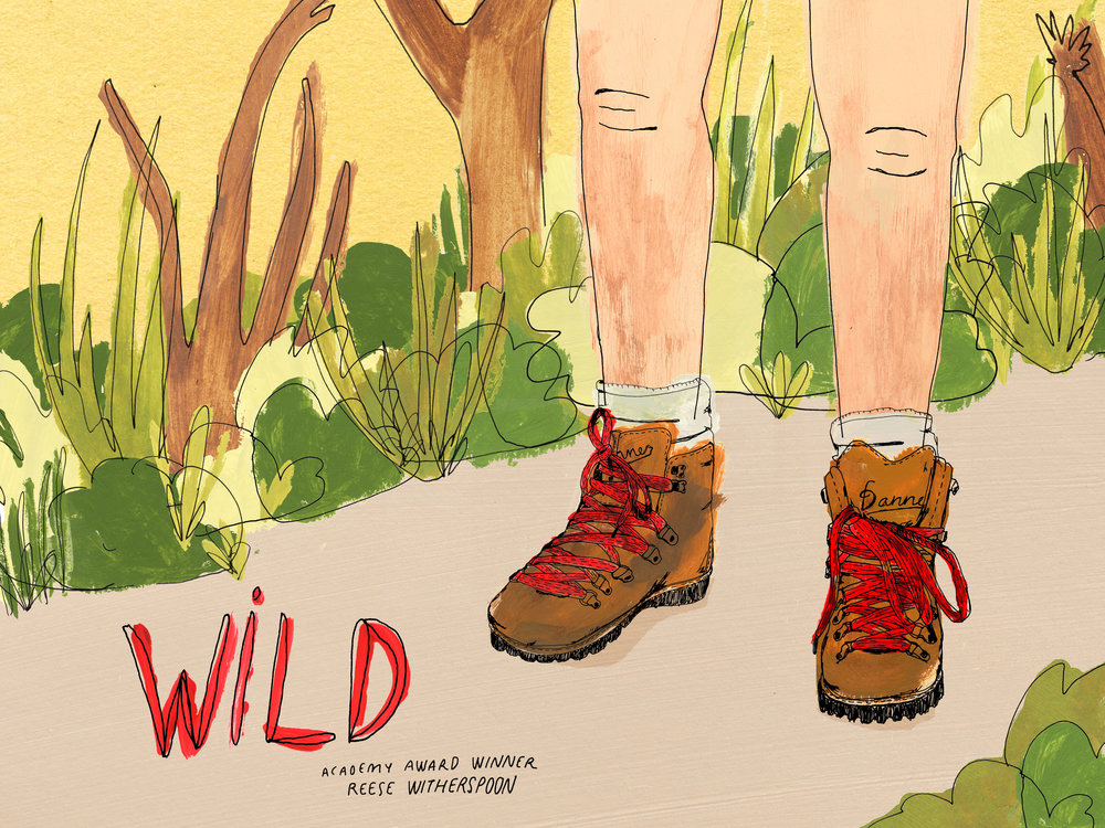 Movie poster for  Wild .