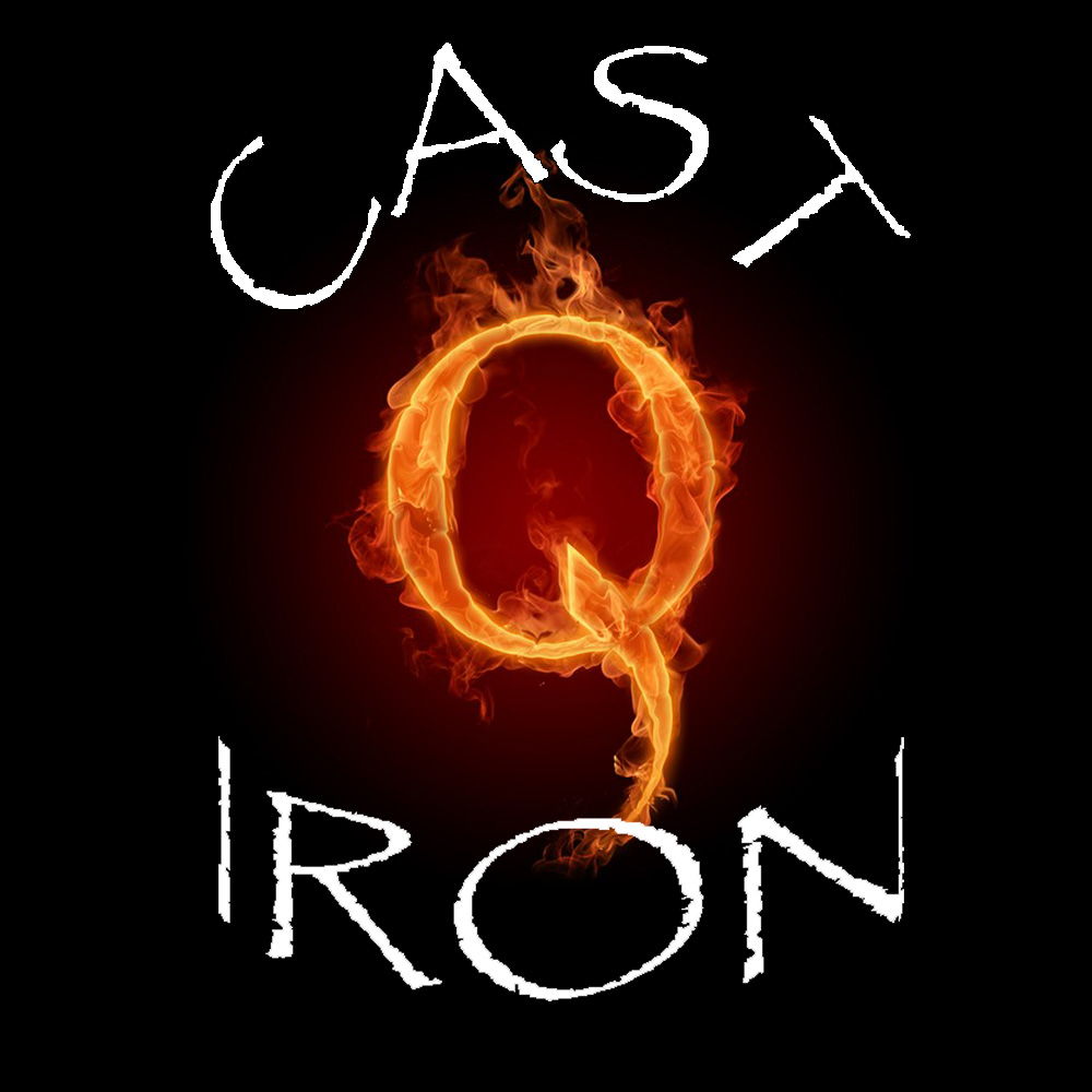 Cast Iron Q is an Arizona based food truck company. They really bring the heat when it comes to food and their logo is exactly what they needed!
