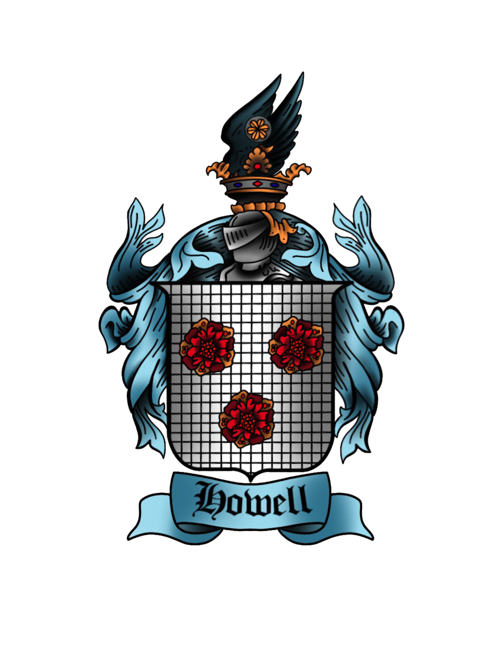 Howellfamilycrest