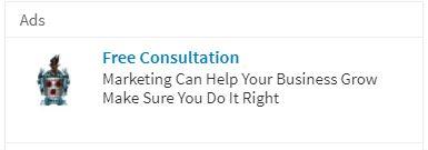 LinkedIn Text Ad