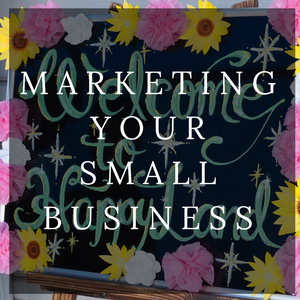 Marketing For Small Businesses -